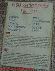 01 Kettenkraftrad Speyer Museum