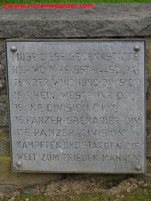 03 116 Panzerdivision Monument