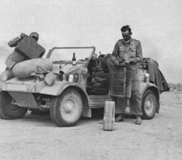 22 Kubelwagen DAK storical