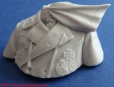 06 116 Pz Division Officer bust Alpine