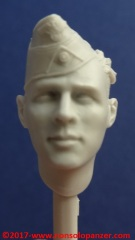 10 116 Pz Division Officer bust Alpine