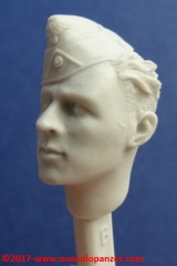 12 116 Pz Division Officer bust Alpine