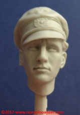 13 116 Pz Division Officer bust Alpine