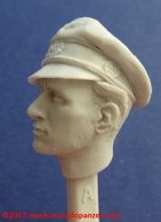 14 116 Pz Division Officer bust Alpine