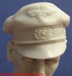 17 116 Pz Division Officer bust Alpine