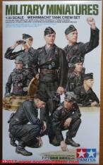 01 Wehrmacht Tank Crew Set