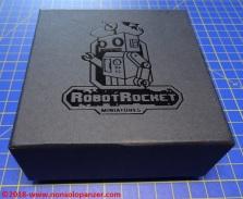 01 Ko-Hana Robot Rocket Miniatures