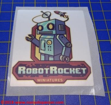 03 Ko-Hana Robot Rocket Miniatures