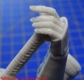 12 Ko-Hana Robot Rocket Miniatures