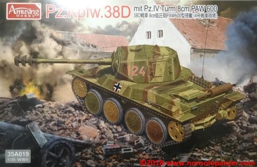 01 Pz 38 D mit Pz IV Turm