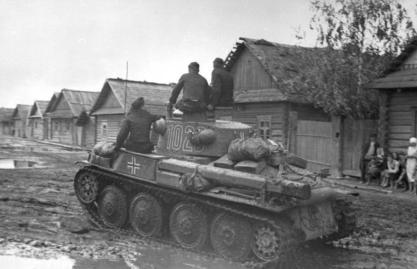 Russland, Panzer 38t