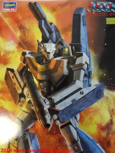02 VF-1S Stike Valkyrie Battroid Hasegawa