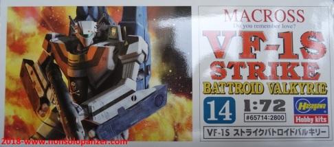 05 VF-1S Stike Valkyrie Battroid Hasegawa