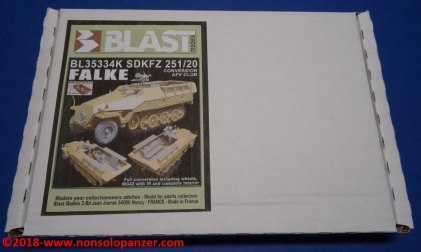 04 Sdkfz 251 Falke Blast Models