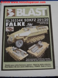 05 Sdkfz 251 Falke Blast Models