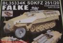 06 Sdkfz 251 Falke Blast Models