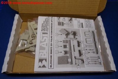 10 Sdkfz 251 Falke Blast Models