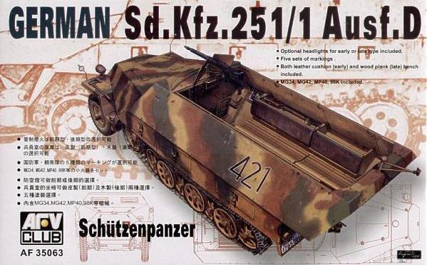 47 Sdkfz 251 D Afv Club
