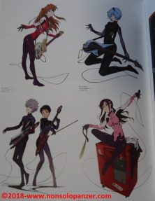22 Evangelion Illustrations 2007-2017
