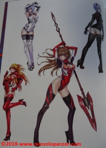 32 Evangelion Illustrations 2007-2017