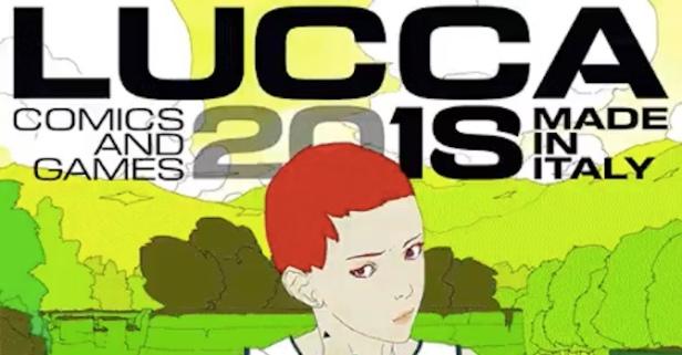 Locandina Lucca Comics 2018