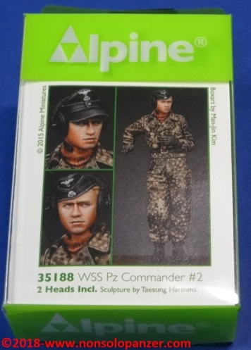 01 WSS Pz Commander 2 - Alpine 35188