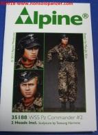 04 WSS Pz Commander 2 - Alpine 35188