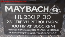 34 Mayback HL230