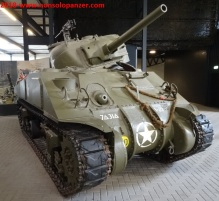 40 Destroyed Sherman Overloon Museum