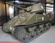 41 Destroyed Sherman Overloon Museum