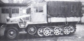 29 Sdkfz 11 Einheitsfahrerhaus Storical