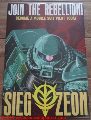 10 Sieg Zeon Displate