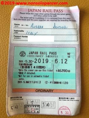 16 Japan Rail Pass