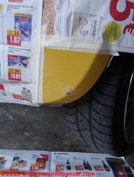 07 Fiat 500 Riparazione Paraurti Posteriore