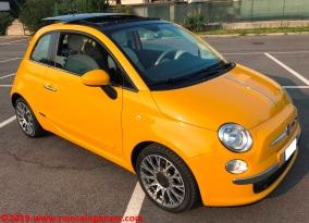 11 Fiat 500 Riparazione Paraurti Posteriore