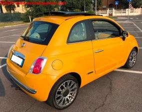 12 Fiat 500 Riparazione Paraurti Posteriore