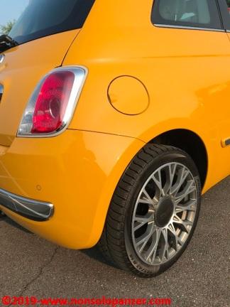 13 Fiat 500 Riparazione Paraurti Posteriore