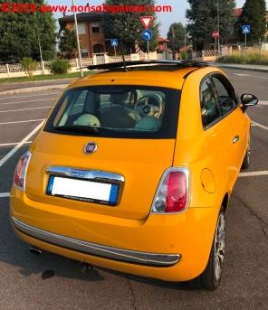 14 Fiat 500 Riparazione Paraurti Posteriore