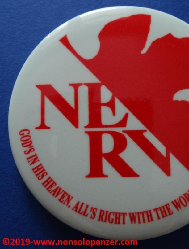 11 Nerv Pin Badge