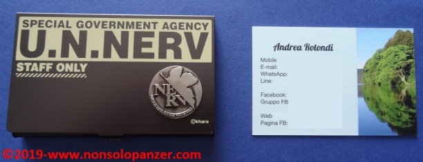 25 Nerv Business Card Holder