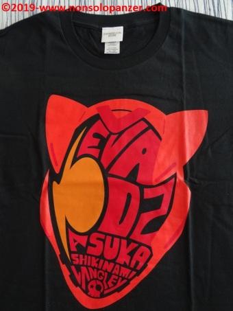 12 Asuka Soryu Langley T-shirt A