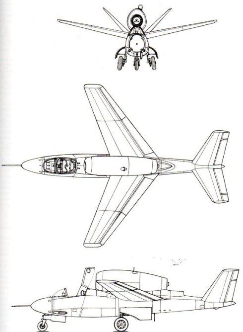 41 He-162 D - profilo