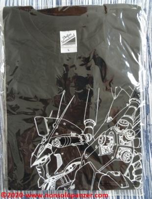 01 Shoji Kawamori Expo - RX78 GP01 T-shirt