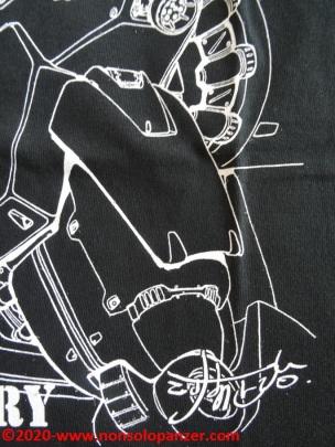 19 Shoji Kawamori Expo - RX78 GP01 T-shirt