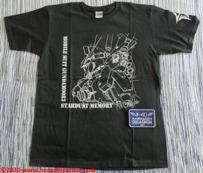 28 Shoji Kawamori Expo - RX78 GP01 T-shirt