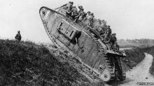 17 WWI Tank storical