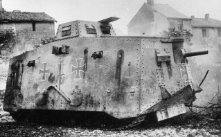 20 WWI Tank storical