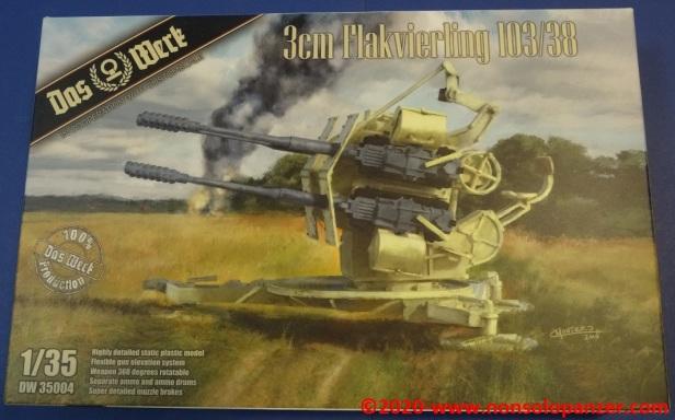 01 Flakvierling 103-38 Das Werck