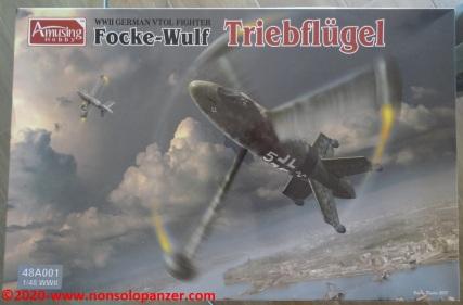 01 Focke-Wulf Triebflugel Amusing Hobby