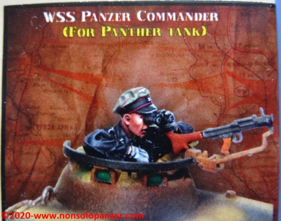 02 WSS Panzer Commander - Evolution Miniatures